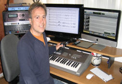 Composer Joe Wiedemann