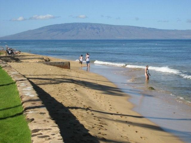 Papakea Resort Beach to Island of Lanai